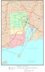 us map ri rhode island political map