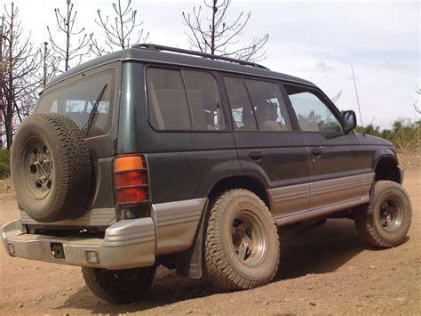 how make cars 1994 mitsubishi truck parking system robbydune s 1994 mitsubishi montero in buena park ca