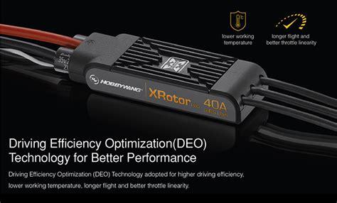 Hobbywing New Xrotor 10a Speed Controller Esc Berkualitas hobbywing xrotor pro 40a 3d 3 6s brushless esc speed