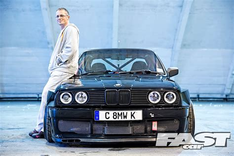 supercharged bmw  fast car