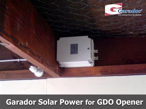 Solar Powered Garage Door Opener Garador Gdo 9 Garage Door Opener Garador Auckland