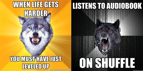 Courage Wolf Meme - wolf up on a quasi related note