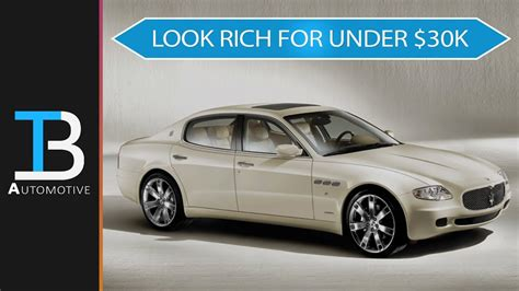 Maserati Cheap by Here Are The 6 Best Used Luxury Cars 30 000 Own A