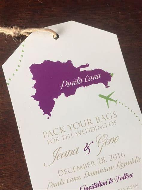 punta cana wedding invitations amazing invitation templ - Destination Wedding Invitations Punta Cana