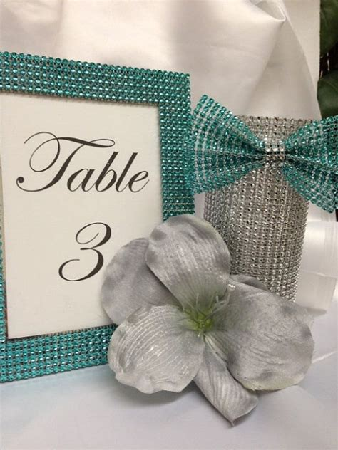 bling wedding table decorations wedding fun pinterest