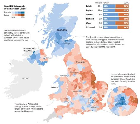 map uk vote brexit brexit referendum results map 1 united kingdom
