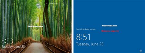 lock screen pictures lock computer in windows 10 windows 10 tutorials