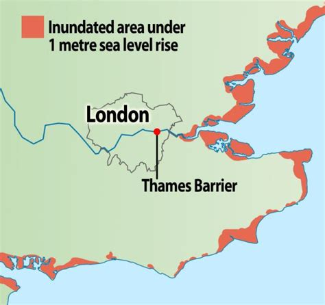 thames barrier rising sea levels what makes sea level rise realclimate thames barrier html