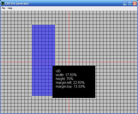 Div Layout Generator Software | download css div generator 1 0