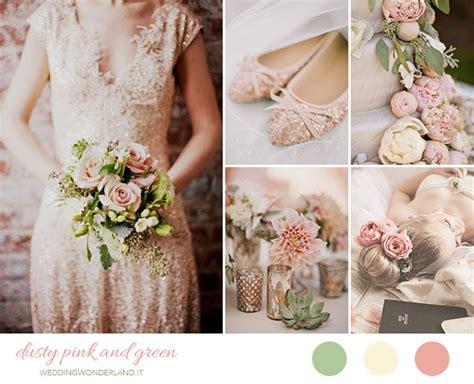 fiori rosa antico inspiration board matrimonio rosa antico e verde