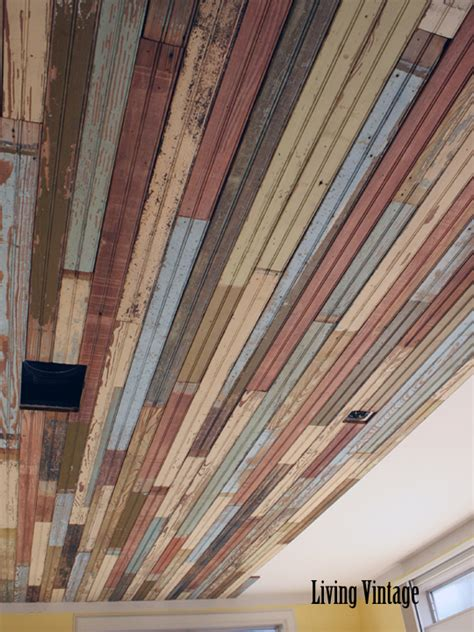 install beadboard ceiling our beadboard installation project in bryan living vintage
