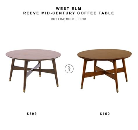 West Elm Mid Century Coffee Table Daily Find West Elm Reeve Mid Century Coffee Table Copycatchic