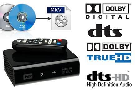 dvd player mkv format support play mkv ac3 5 1 dts 5 1 audio with wd tv players bd dvd
