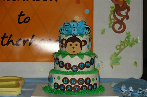 Monkey Themed Baby Shower Ideas For A Boy by 71 Best Images About Monkey Boy Baby Shower Birthday