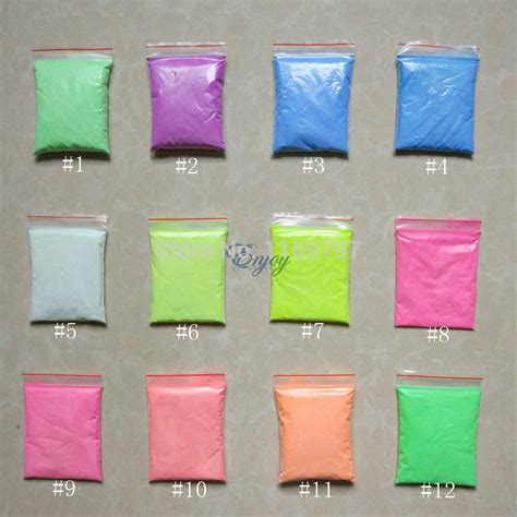 can you mix glow in the powder with regular paint aliexpress buy mixed colors luminous powder phosphor