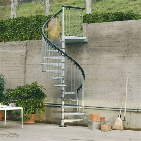 wenteltrap oud metalen spiltrap voor buiten verzinkt l00l trappen