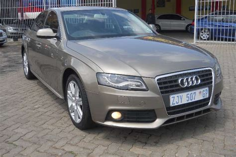 Audi A4 T R by 2010 Audi A4 1 8t Sedan Fwd Cars For Sale In Gauteng