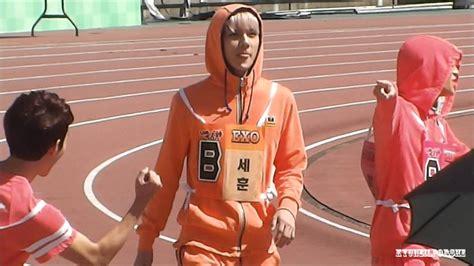 exo isac 130903 isac recording exo k sehun men s 100 metres