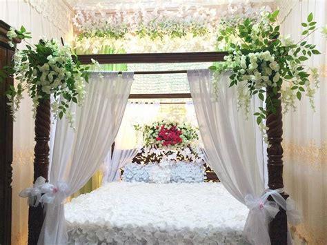 dekorasi kamar pengantin sederhana  romantis  dekor rumah