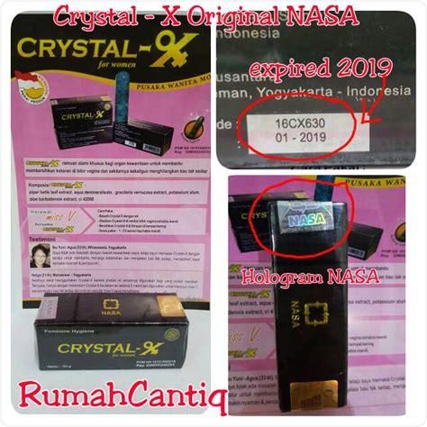 Cristal X Ori Produk Nasa jual x original nasa hologram rumahcantiq
