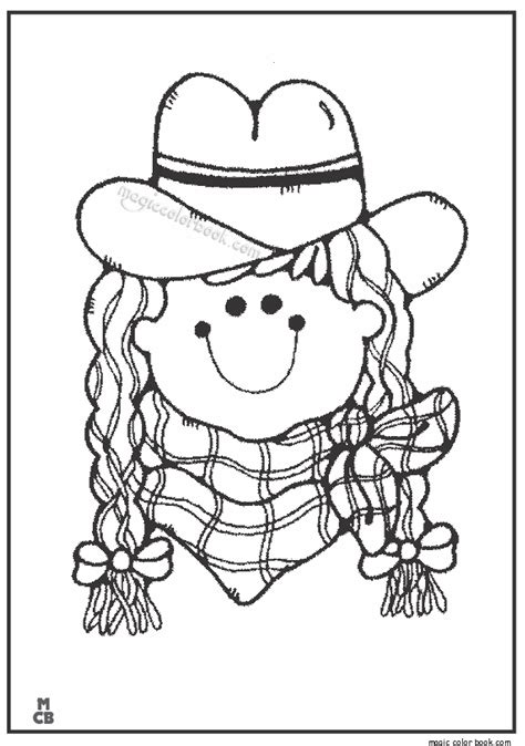 Cowboy Pictures To Color by Cowboy Coloring Pages 09