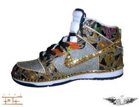 Swarovski Crystal Home Decor Handmade Custom Shoes Created For Kanye West By Fly