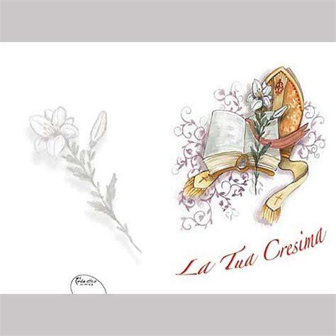 il fiore libro biglietto cresima auguri fiore e libro vendita su