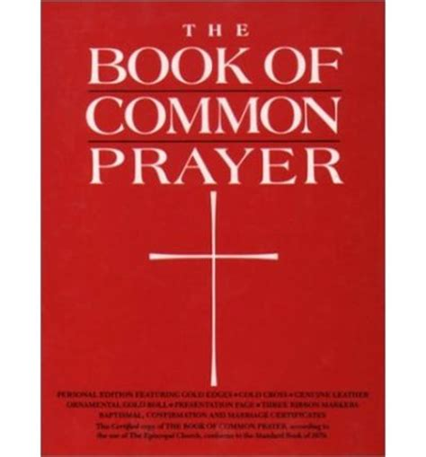 the common books the book of common prayer oxford press