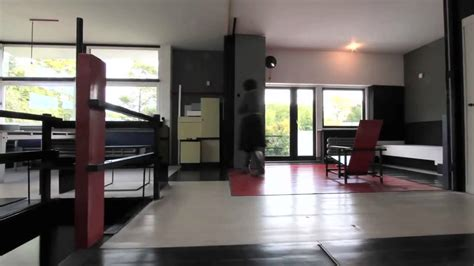 Rietveld Schroder House Floor Plans gerrit rietveld schr 246 der house 1924 youtube