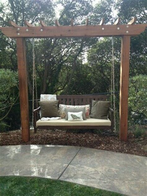 Best 25 Backyard Swings Ideas On Pinterest Garden Swing