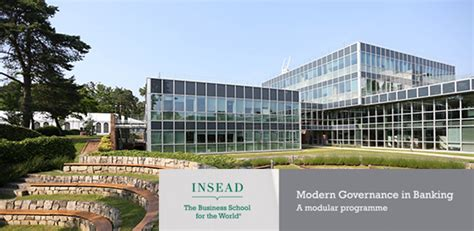 Insead Mba Program Structure by Modern Governance In Banking Ebf And Insead Offer New