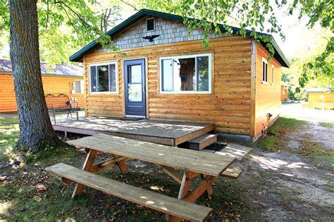 Leech Lake Cabins by Cabin 9 Big Rock Resort Leech Lake Minnesota