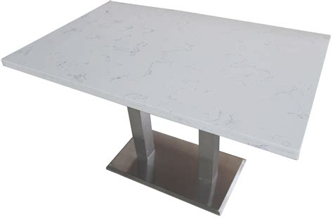 square quartz commercial restaurant table tops gotable com