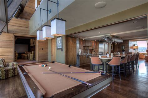 custom pool table  mitchell pool tables contemporary home bar manchester  mitchell exclusive pool tables