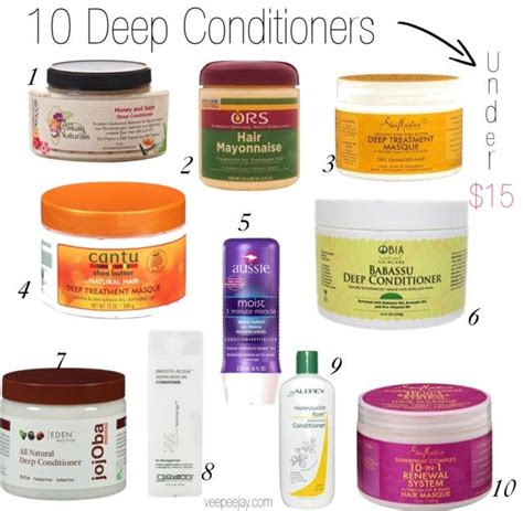 woman who hasnt used shoo or conditioner in a year loves her 10 deep conditioners for natural hair under 15 natural