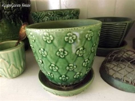 Shawnee Planters by 1000 Images About Aqua Turquoise Green Pottery On