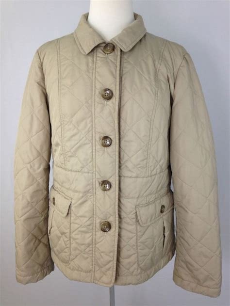 Lands End Quilted Jacket by Lands End Womens Large Light Weight Quilted Jacket Coat