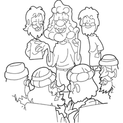 coloring page jesus preaching jesus preaching in the temple coloring page
