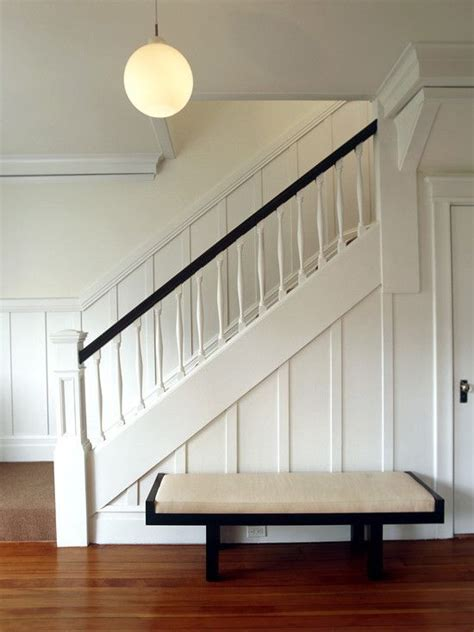 Board And Batten Wainscoting Ideas by Wainscot Trim On Stairs Trim Details
