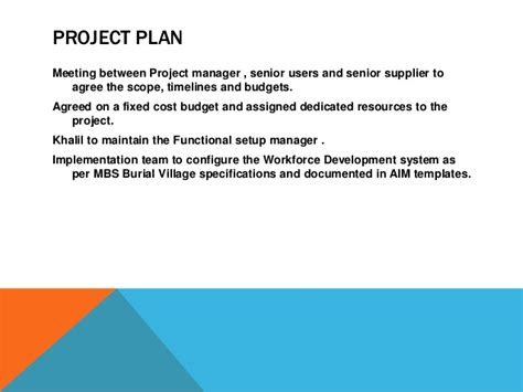 mbs burial talent management implementation august