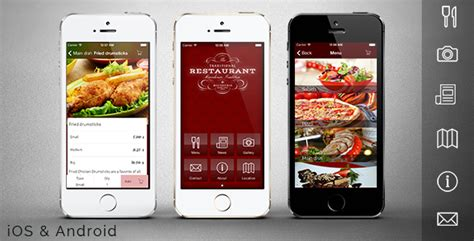 restaurant app template mobile codecanyon