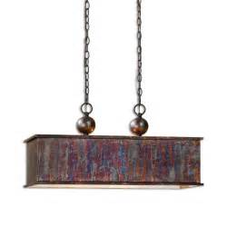 Bronze Foyer Light Farmhouse Chandelier Antique Oxidized Copper Kitchen