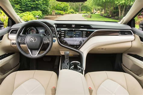toyota camry 2017 interior 2018 toyota camry first drive review motor trend