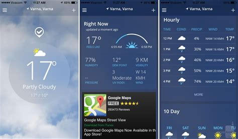 the weather channel app for android tablet 15 beautiful free weather app replacements for iphone and