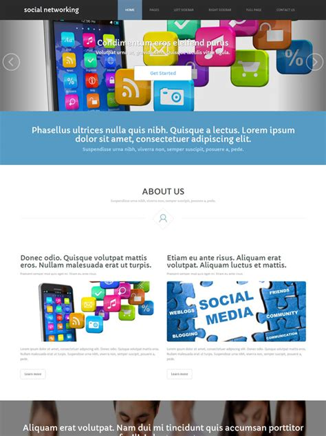 social networking templates social networking site template social networking