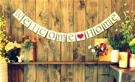 welcome home decoration welcome quot home quot a true love fairytale lessons of love