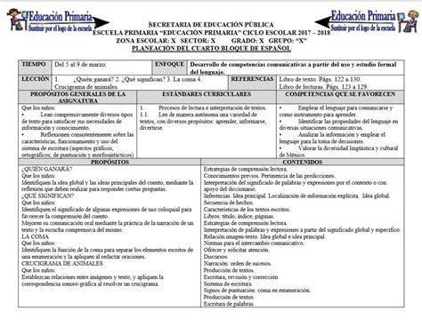 planeaciones cuarto grado bloque 1 primer bimestre ciclo escolar 2014 planeaciones del primer grado del cuarto bloque para el