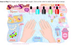 nail polish games nail paint design
