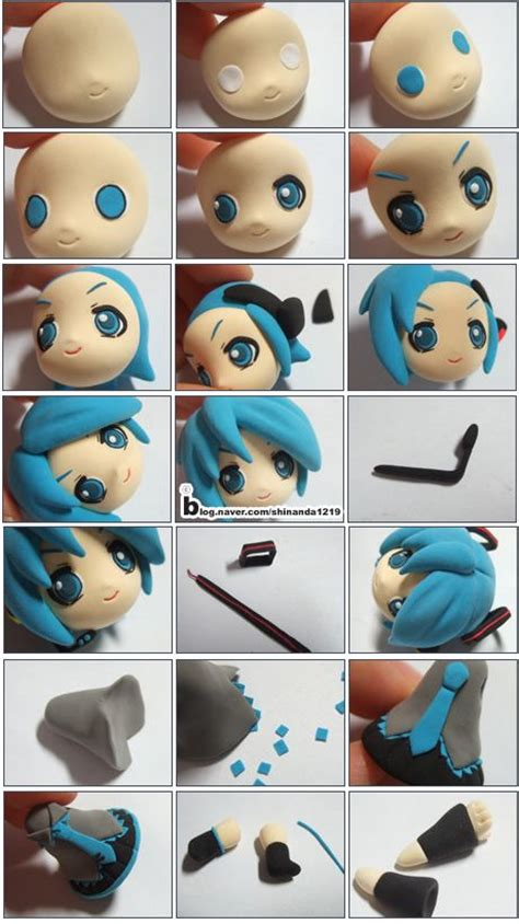 turorial how to make quot hatsune miku quot of vocaloid polymer