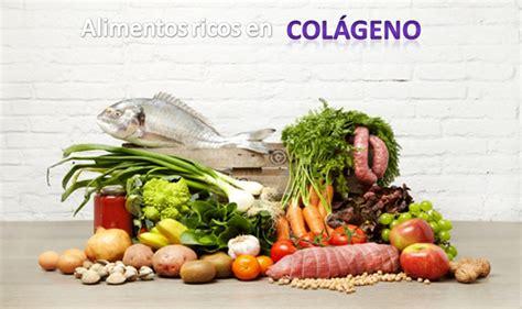 alimentos ricos en colageno clinica bayton